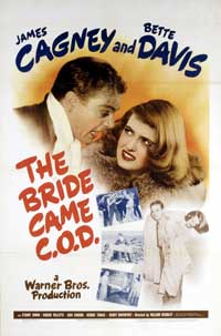 The Bride Came C.O.D. - 11 x 17 Movie Poster - Style A