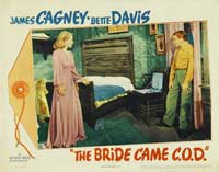 The Bride Came C.O.D. - 11 x 14 Movie Poster - Style A