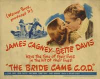 The Bride Came C.O.D. - 22 x 28 Movie Poster - Half Sheet Style A
