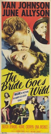 The Bride Goes Wild - 11 x 17 Movie Poster - Style A
