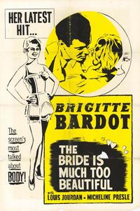 The Bride Is Much Too Beautiful - 27 x 40 Movie Poster - Style A