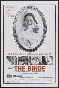 The Bride - 27 x 40 Movie Poster - Style B