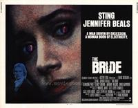 The Bride - 22 x 28 Movie Poster - Half Sheet Style A