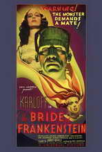 The Bride of Frankenstein - 27 x 40 Movie Poster - Style A