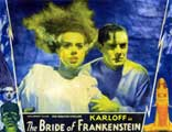 The Bride of Frankenstein - 30 x 40 Movie Poster - Style A