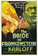 The Bride of Frankenstein - 11 x 17 Movie Poster - Style F