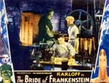 The Bride of Frankenstein - 11 x 14 Movie Poster - Style F