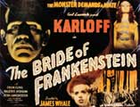 The Bride of Frankenstein - 22 x 28 Movie Poster - Half Sheet Style B