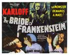 The Bride of Frankenstein - 30 x 40 Movie Poster UK - Style A