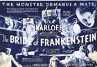 The Bride of Frankenstein - 30 x 40 Movie Poster UK - Style B