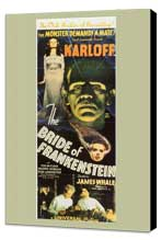 The Bride of Frankenstein - 14 x 36 Movie Poster - Insert Style B - Museum Wrapped Canvas