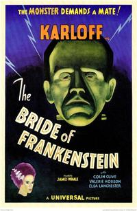 The Bride of Frankenstein - 11 x 17 Movie Poster - Style B