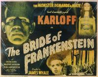 The Bride of Frankenstein - 11 x 14 Movie Poster - Style A