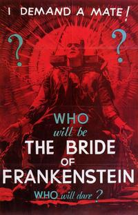 The Bride of Frankenstein - 11 x 17 Movie Poster - Style E