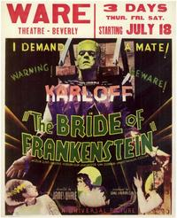 The Bride of Frankenstein - 11 x 14 Movie Poster - Style D