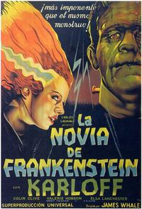 The Bride of Frankenstein - 11 x 17 Poster - Foreign - Style A