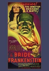 The Bride of Frankenstein - 20 x 40 Movie Poster - Style A