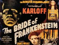 The Bride of Frankenstein - 27 x 40 Movie Poster - Style B
