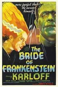 The Bride of Frankenstein - 43 x 62 Movie Poster - Bus Shelter Style A