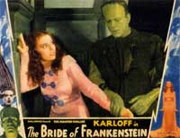 The Bride of Frankenstein - 11 x 14 Movie Poster - Style E
