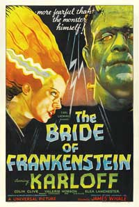 The Bride of Frankenstein - 11 x 17 Movie Poster - French Style A