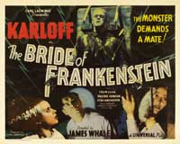 The Bride of Frankenstein - 22 x 28 Movie Poster - Half Sheet Style A