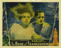 The Bride of Frankenstein - 11 x 14 Movie Poster - Style I