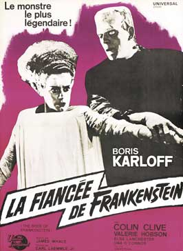 The Bride of Frankenstein - 27 x 40 Movie Poster - French Style A