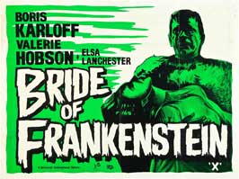 The Bride of Frankenstein - 11 x 14 Poster UK Style A