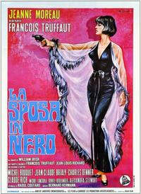 The Bride Wore Black - 11 x 17 Movie Poster - Italian Style A