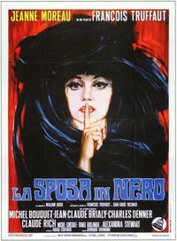 The Bride Wore Black - 11 x 17 Movie Poster - Italian Style B