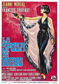 The Bride Wore Black - 11 x 17 Movie Poster - French Style A