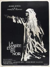 The Bride Wore Black - 27 x 40 Movie Poster - French Style C