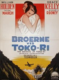 The Bridges at Toko-Ri - 27 x 40 Movie Poster - Danish Style A