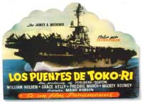 The Bridges at Toko-Ri - 27 x 40 Movie Poster - Spanish Style A