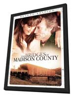 The Bridges of Madison County - 27 x 40 Movie Poster - Style B - in Deluxe Wood Frame