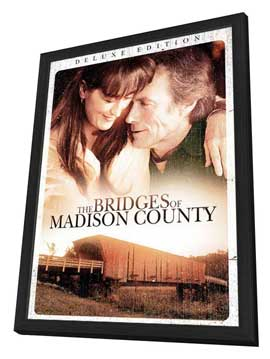 The Bridges of Madison County - 11 x 17 Movie Poster - Style B - in Deluxe Wood Frame