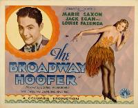 The Broadway Hoofer - 27 x 40 Movie Poster - Style A