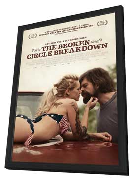 The Broken Circle Breakdown - 27 x 40 Movie Poster - Style A - in Deluxe Wood Frame