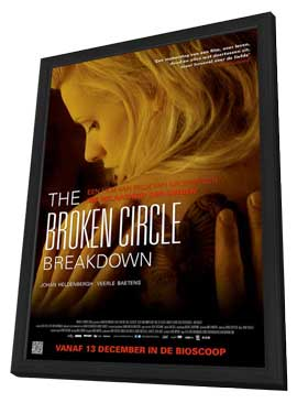 The Broken Circle Breakdown - 11 x 17 Movie Poster - Dutch Style A - in Deluxe Wood Frame