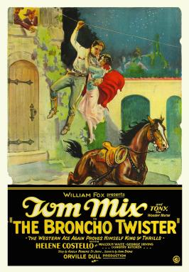 The Broncho Twister - 11 x 17 Movie Poster - Style A
