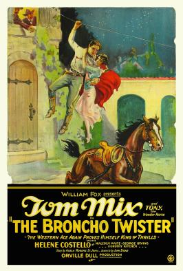 The Broncho Twister - 27 x 40 Movie Poster - Style A
