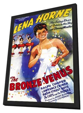 The Bronze Venus - 11 x 17 Movie Poster - Style A - in Deluxe Wood Frame