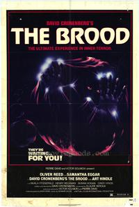 The Brood - 43 x 62 Movie Poster - Bus Shelter Style A
