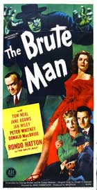 The Brute Man - 11 x 17 Movie Poster - Style B