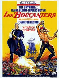 The Buccaneer - 11 x 17 Movie Poster - French Style A
