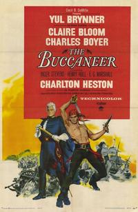 The Buccaneer - 11 x 17 Movie Poster - Style A