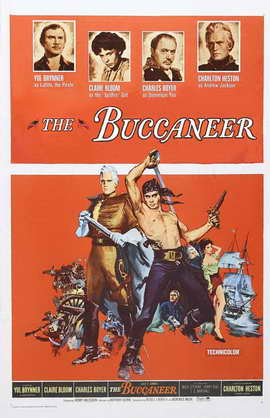 The Buccaneer - 11 x 17 Movie Poster - Style C