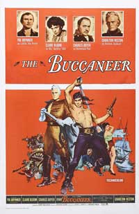 The Buccaneer - 27 x 40 Movie Poster - Style C
