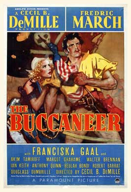 The Buccaneer - 11 x 17 Movie Poster - Style D